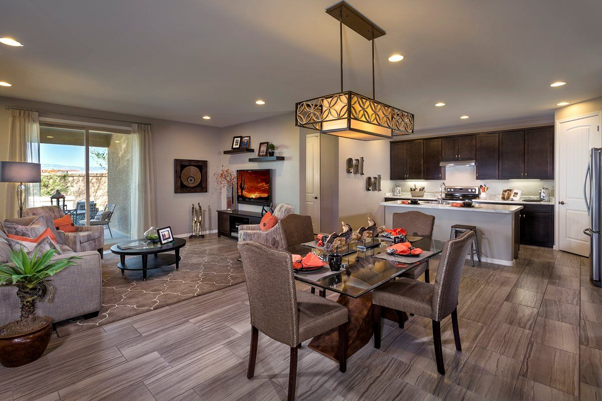 New homes in tucson az mountain vail reserve 1465 great room