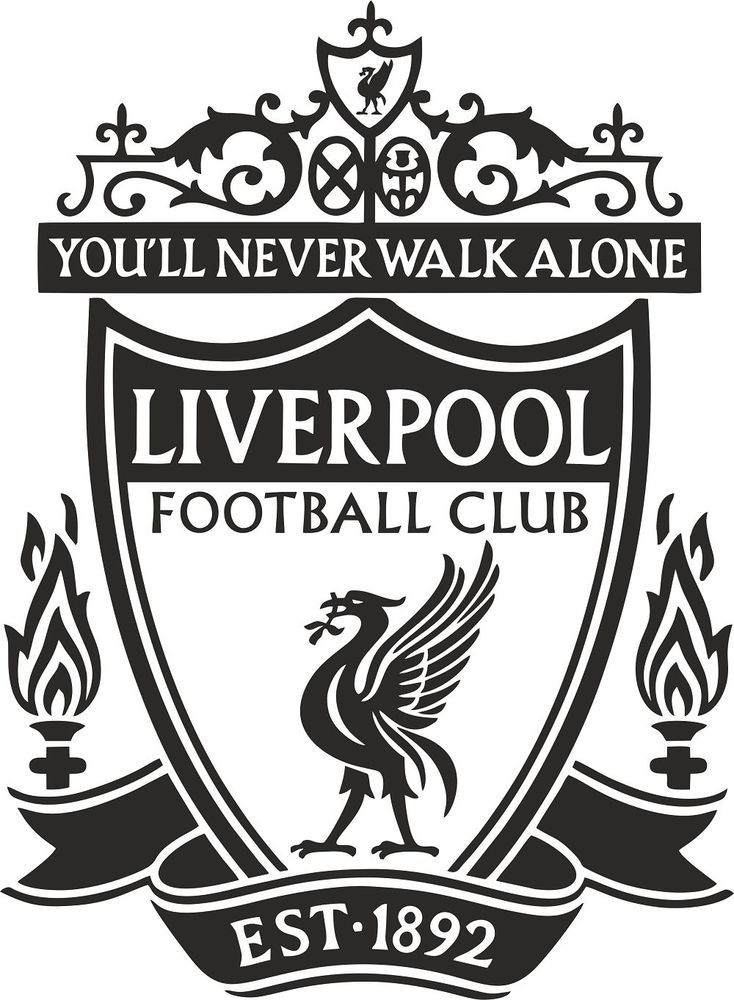 Liverpool Badge Wall Decal Art Stickers Football Club Sport Bedroom Mural  LFC  52ecf723c431