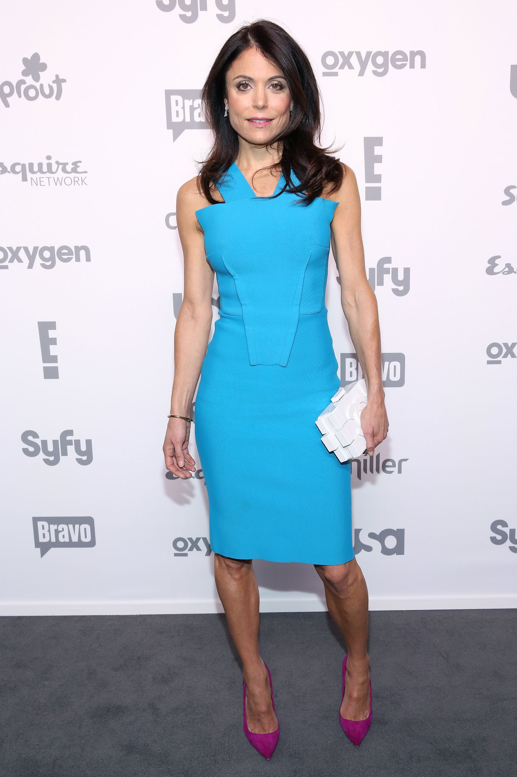 Bethenny Frankel wears light Blue Dress | Beautiful outfits for ...