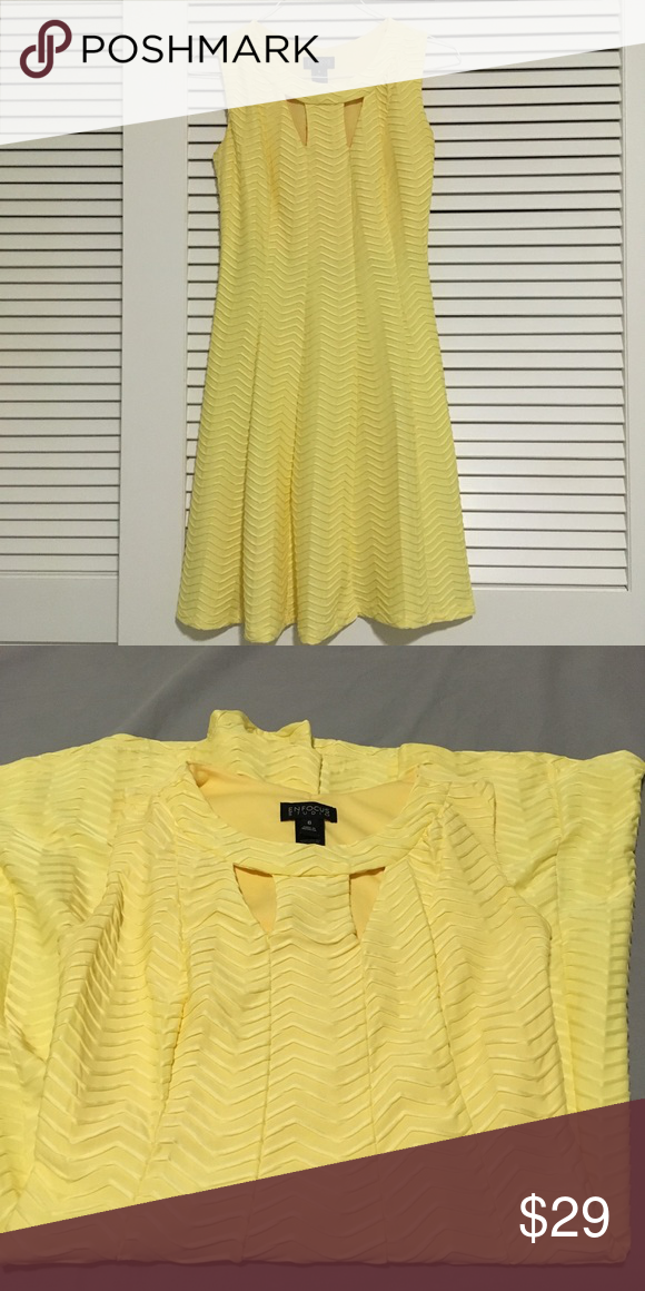 Canary yellow cocktail dress | size 6 This dress will def