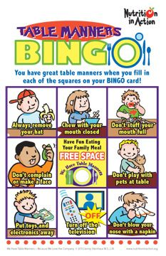 photo about Table Manners for Kids Printable identified as printable desk manners - Google Glance significant tea textbooks