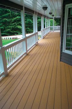 Best Tamko Evergrain Cedar Porch With Images Rustic Front Porch Backyard House Deck 400 x 300