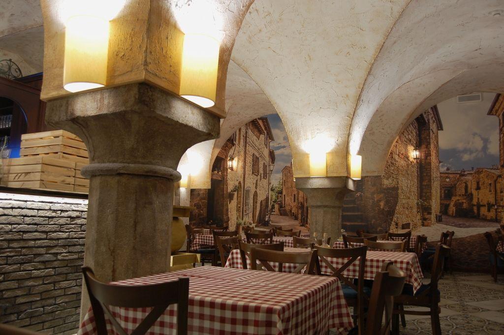 Piwnica Winiarnia Elegancka Restauracja I Wykwintna Kuchnia O Sole Mio To Kwintesencja Wloskiego Stylu I Smaku Pro Design Restaurant Italian Restaurant