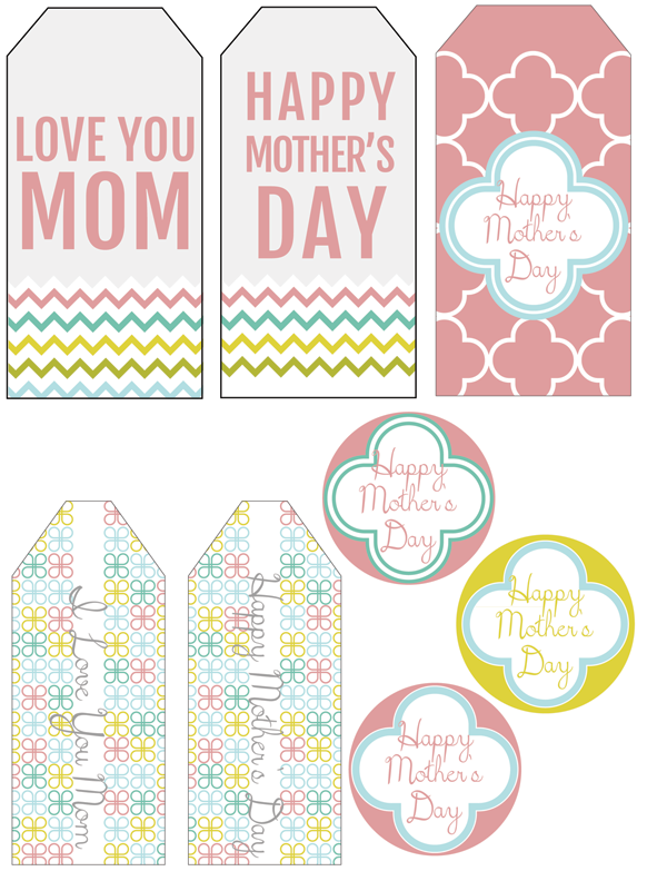 Freebie Printable Mother S Day Gift Tags Scrap Booking Happy Mothers Day Banner Creative Mother S Day Gifts Mother S Day Banner