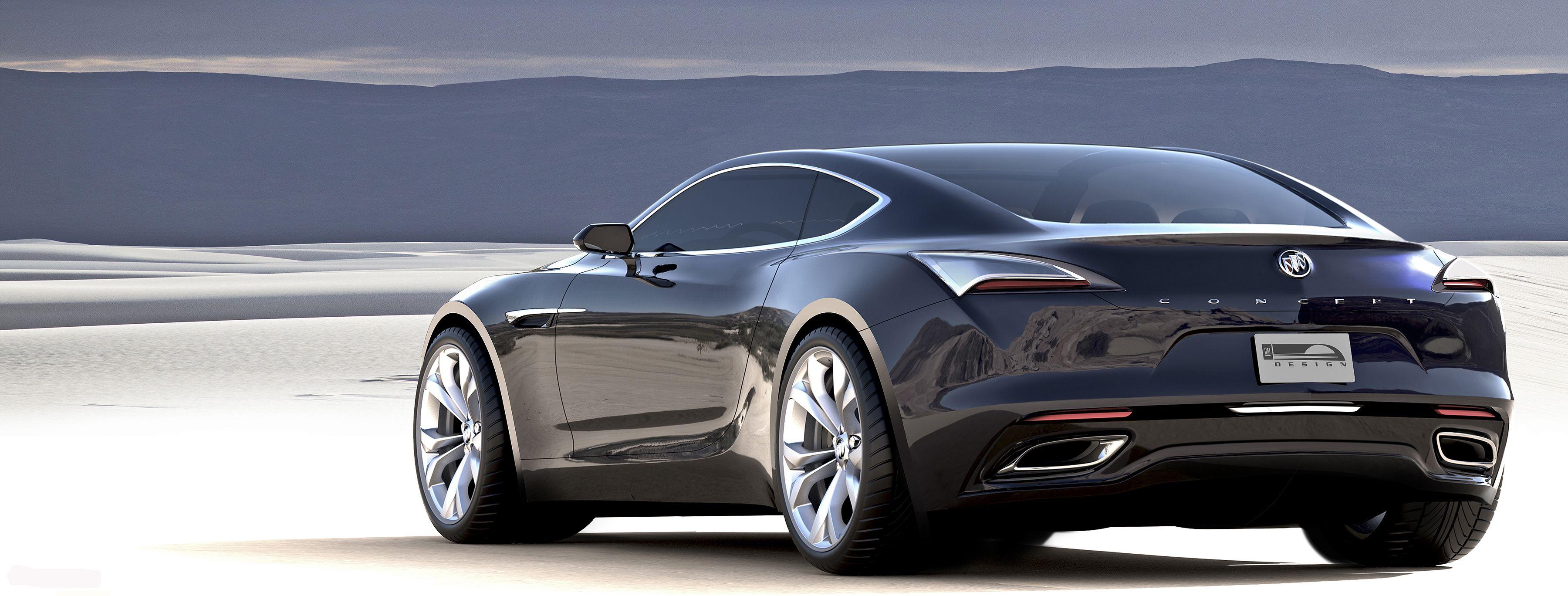 Buick Avista Coupe Concept De Motor Cadillac Twin Turbo