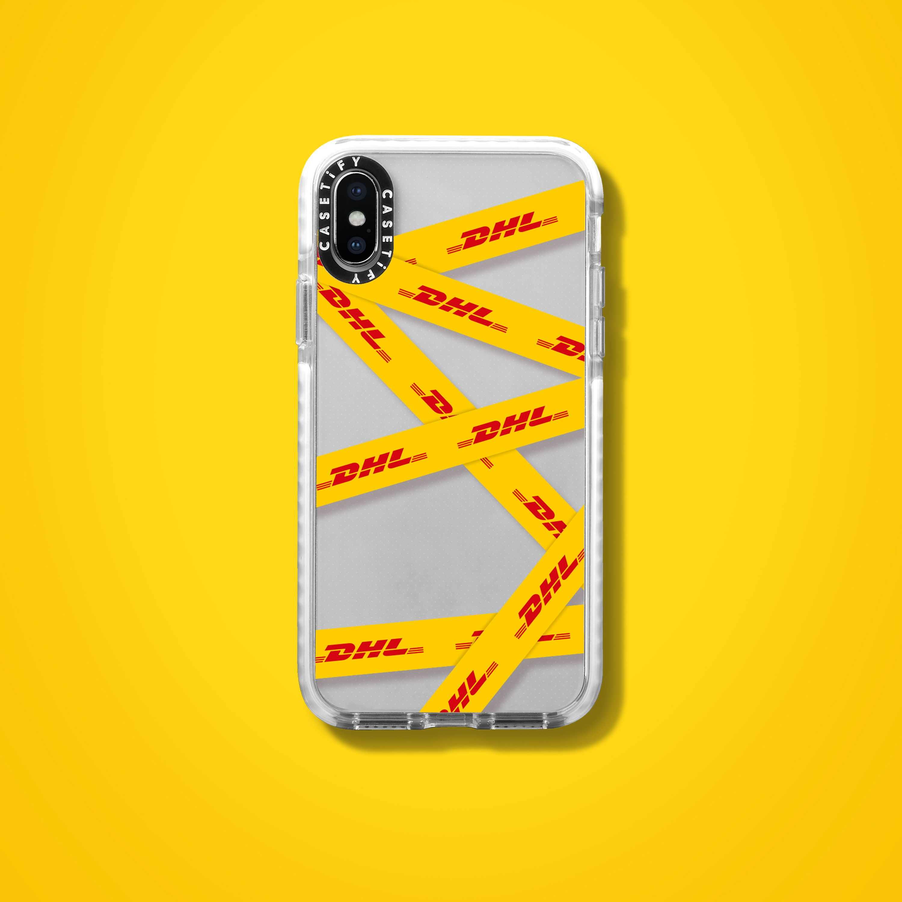 the latest f6eee 9ee14 DHL x CASETiFY iPhone cases | tape it up case | cute protective chic ...