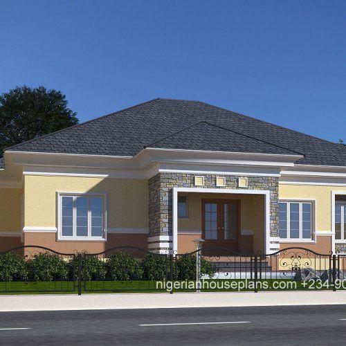 4 bedroom bungalow (Ref: 4030) in 2020 | Bungalow floor ...