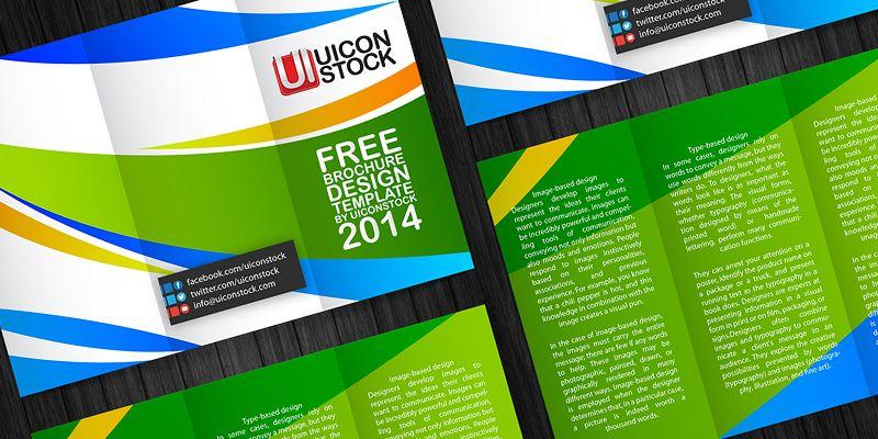 Free Download   uiconstock/free-printable-brochure-design