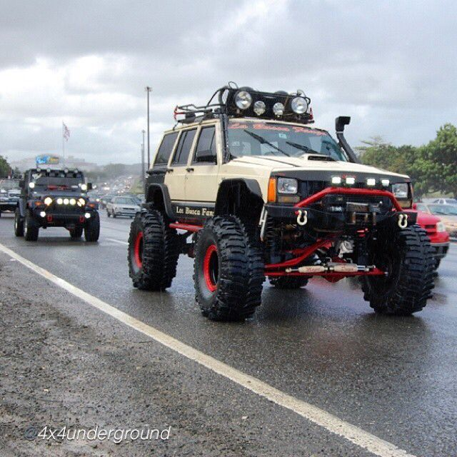 the top 5 modifications for your jeep cherokee that you should i m friends this guy on fb this rig is insanely bad