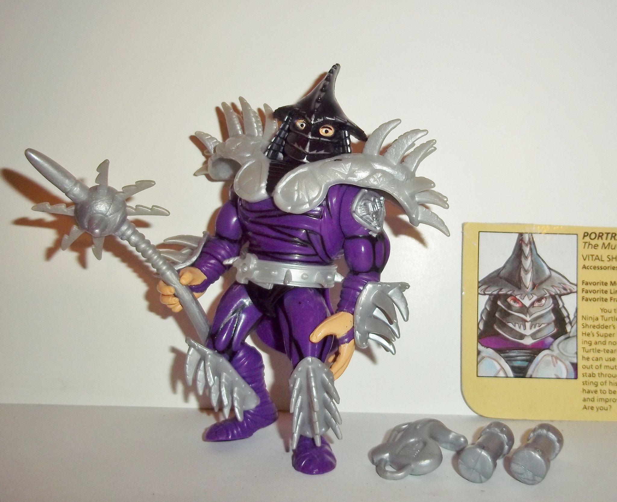 Teenage Mutant Ninja Turtles Shredder Toy : Teenage mutant ninja turtles shredder super shredder 1991 movie