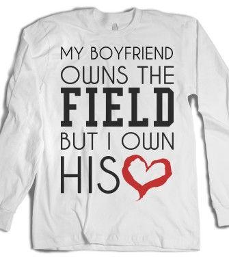 Football Baseball Girlfriend Shirt Couple Baseball Girlfriend