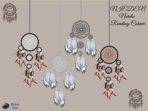 RightHearted s NIEDEN Nordic Ceiling Dreamcatcher