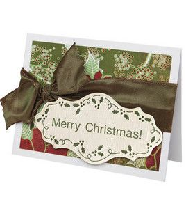 Merry Christmas Card : Scrapbooking Projects : Shop | Joann.com