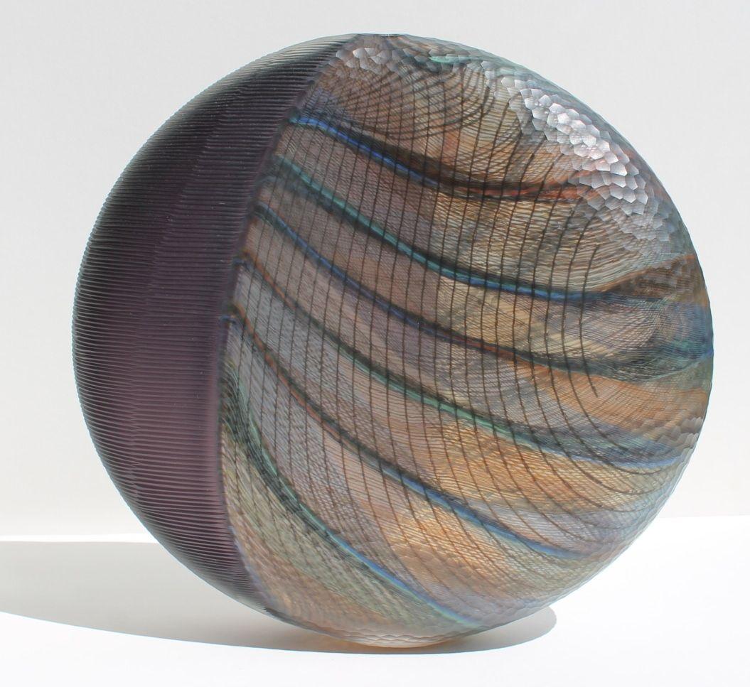 Lino Tagliapietra Battuto Glass Vessel | The Friedman Collection | WOLFS Art Dealers and Appraisers