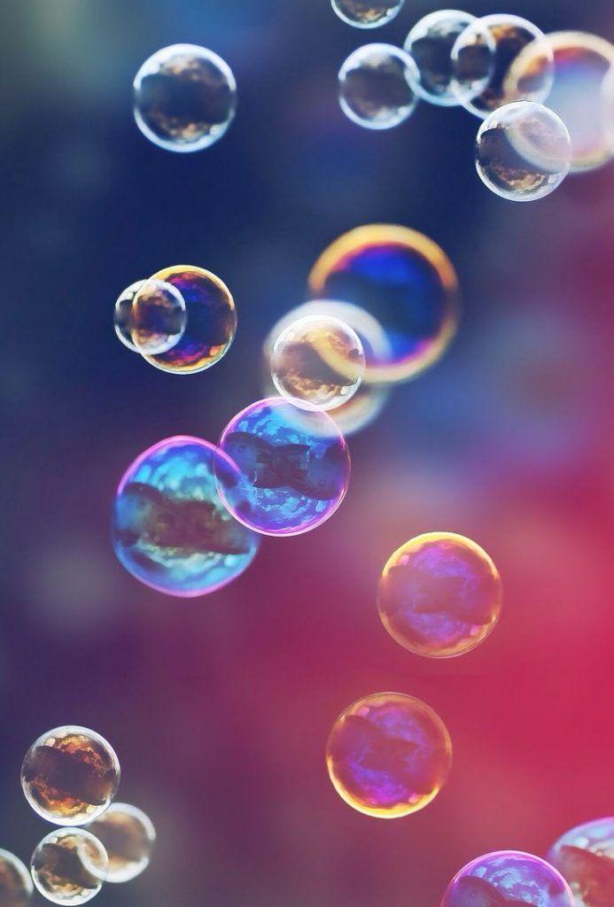Bildschirmschoner & Symbolcover, Seifenblasen für das innere Kind, Leichtigkeit, lieb