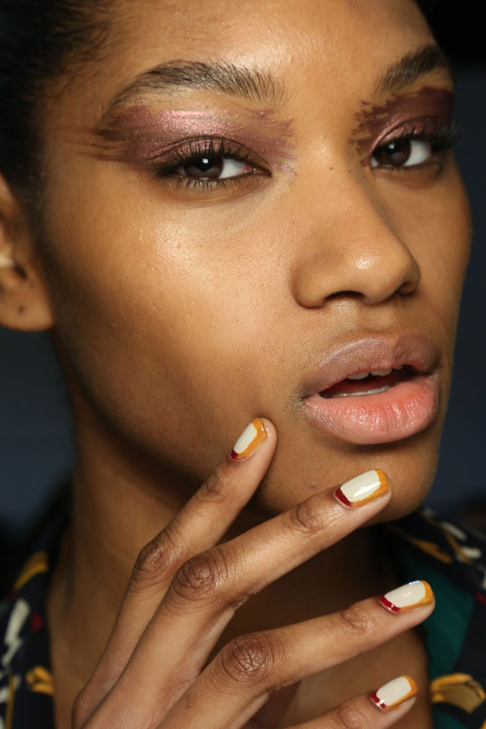 The 17 Best Nail Looks from Fall 2015 | White nails, Sally hansen ...
