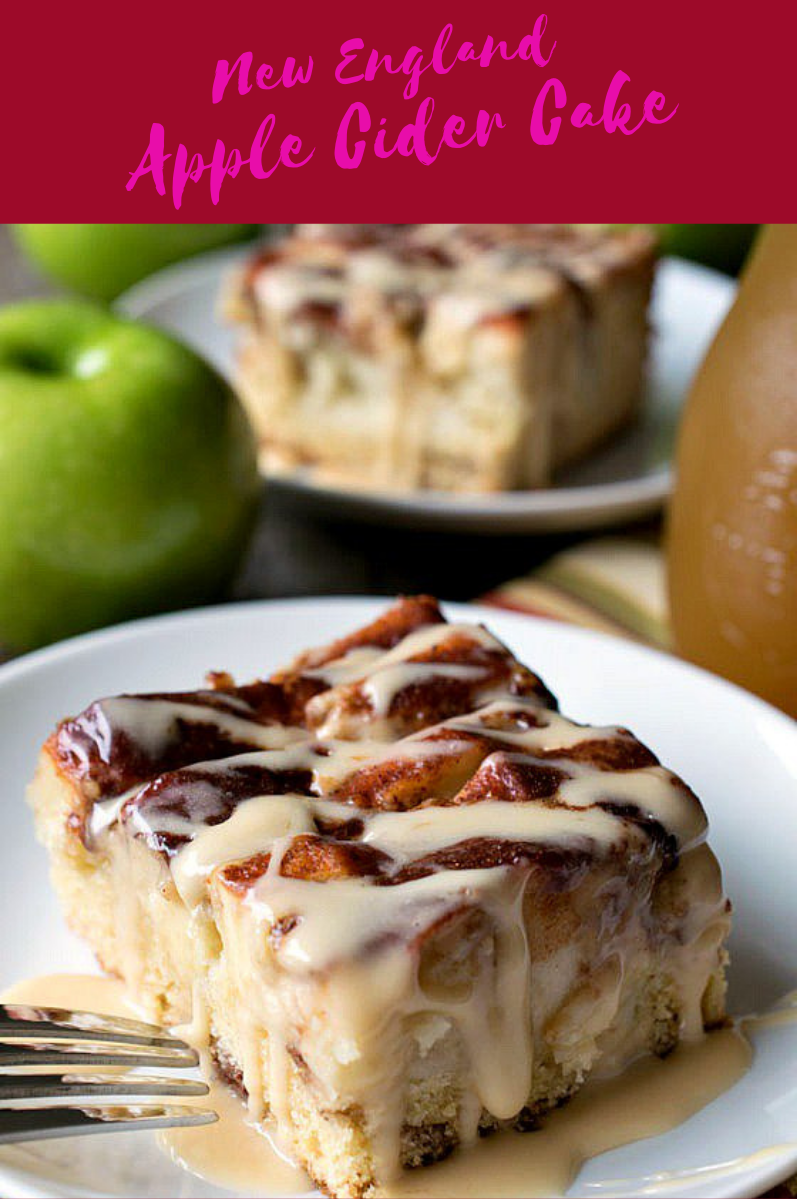 New England Apple Cider Cake  FOOD & RECIPES is part of Cake recipes -