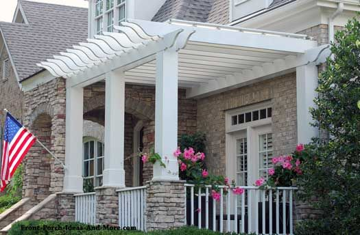 Small Porch Designs Can Have Massive Appeal Porch Design Front Porch Design Small Porches