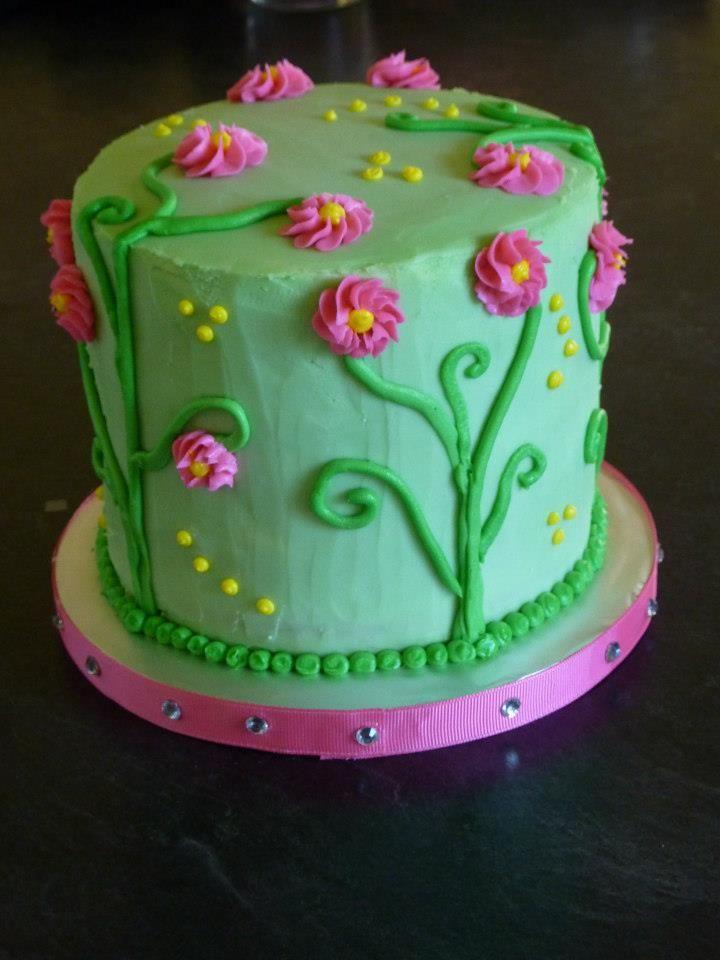 6 layer rainbow cake 6 inch cake