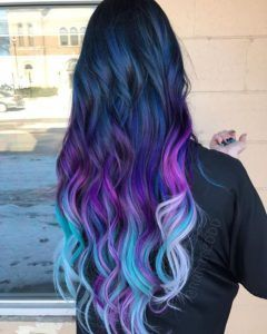 35 Blue and Purple Hair Color Ideas ndash Blue and Purple Hair Color Ideas blue p hellip