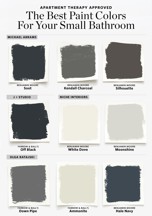 16 Perfect Paint Shades For Your Bathroom Small Bathroom Colors Bathroom Paint Colors Small Bathroom Paint Colors