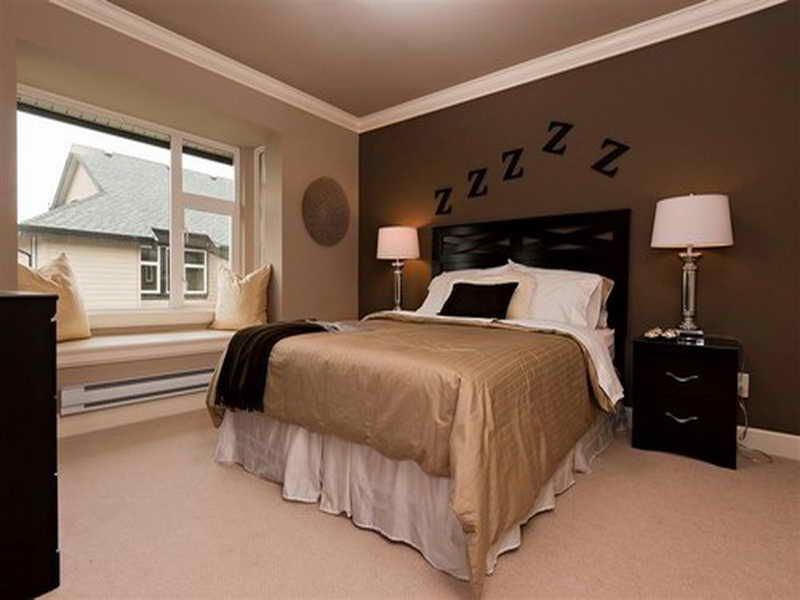 Accent Wall For Small Rooms Google Search Bedroom Paint Colors Master Light Brown Bedrooms Brown Bedroom Walls