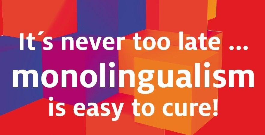Αποτέλεσμα εικόνας για monolingualism can be cured
