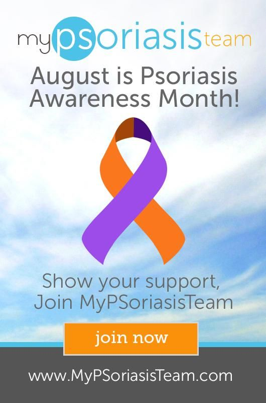 Psoriasis Awareness Month may be over, but living with #psoriasis is 365 days a year!! Join mypsoriasisteam.com!!