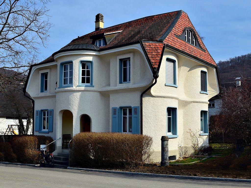 Rudolf Steiner Architektur haus elisabeth vreede erbaut in 1919 auf der höhe dornach