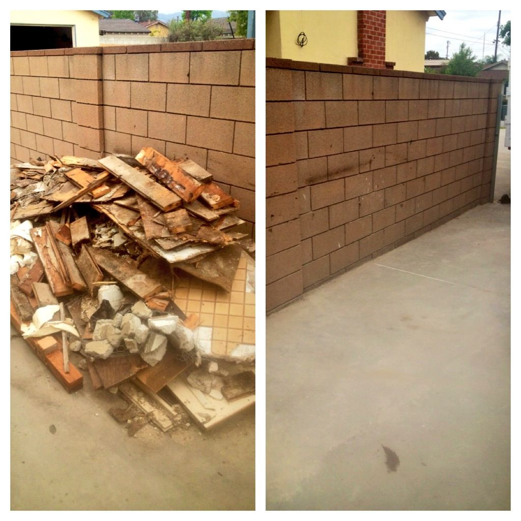 junk removal Construction clean up, Junk removal, Trash