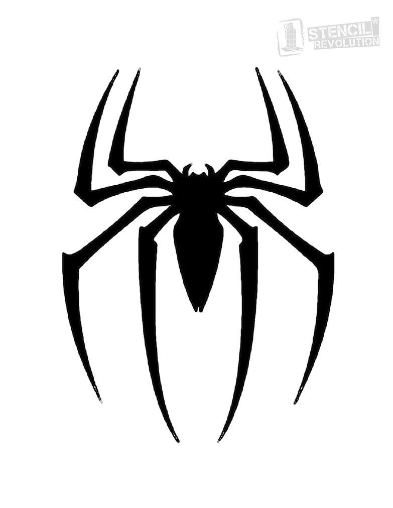 Image result for spiderman emblem tattoo | Superhero Emblems ...