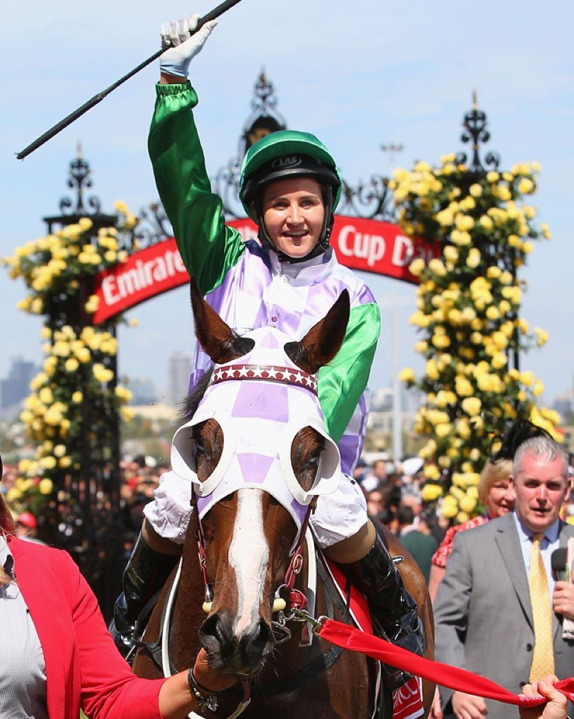 Bbc News On Instagram 3 Nov Australian Michelle Payne Has Become The First Female Jockey To Win Australia Melbourne Cup Melbourne Cup Winners Girls Be Like