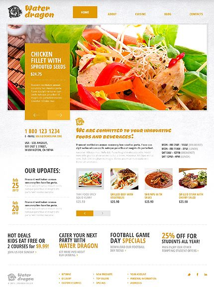 Cafe and restaurant joomla template template web layout and user joomla template food website httptemplatemonsterjoomla templates 43503mlutmsourcepinterestutmmediumtimelineutmcampaigncafe forumfinder Images