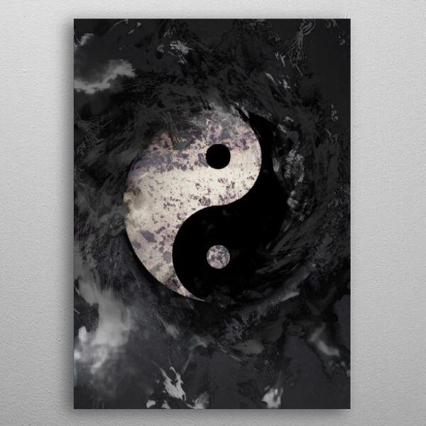 #yinyang #art #culture #pop #popcluture #religion   Displate thumbnail