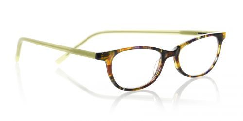 b6fdfa414f8 Scary Terri reading glasses by eyebobs in tortoise lime green.