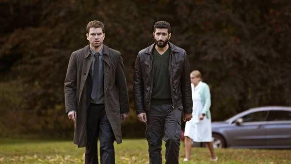Nikolaj Lie Kaas og Fares Fares i rollerne som kriminalkommisær Carl Mørck og hans assistent Assad.(Foto: Christian Geisnæs)