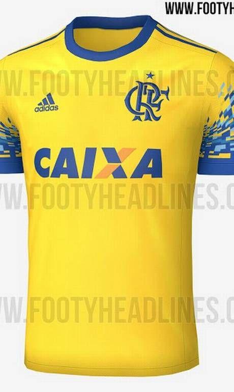 Camisa do Flamengo I 2017 adidas Torcedor Masculina