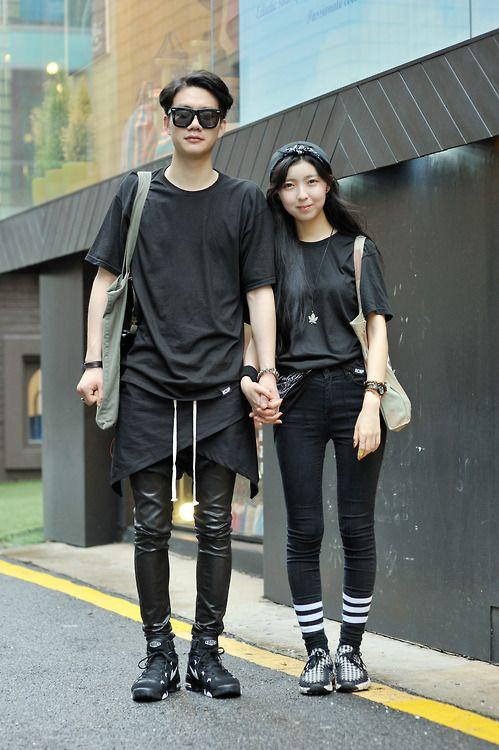 Kwon Hyeokui, Huh Jinsong . Korea Seoul 2013 July 17 #fashion