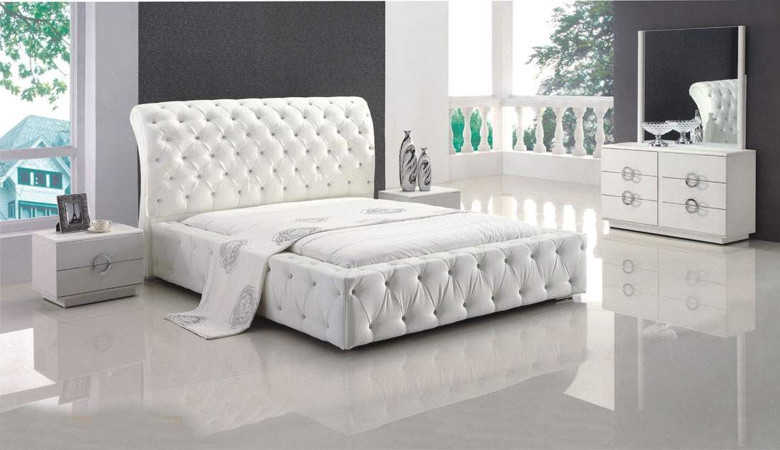 Refined Wood High End Modern Furniture feat. Full Tufted ...