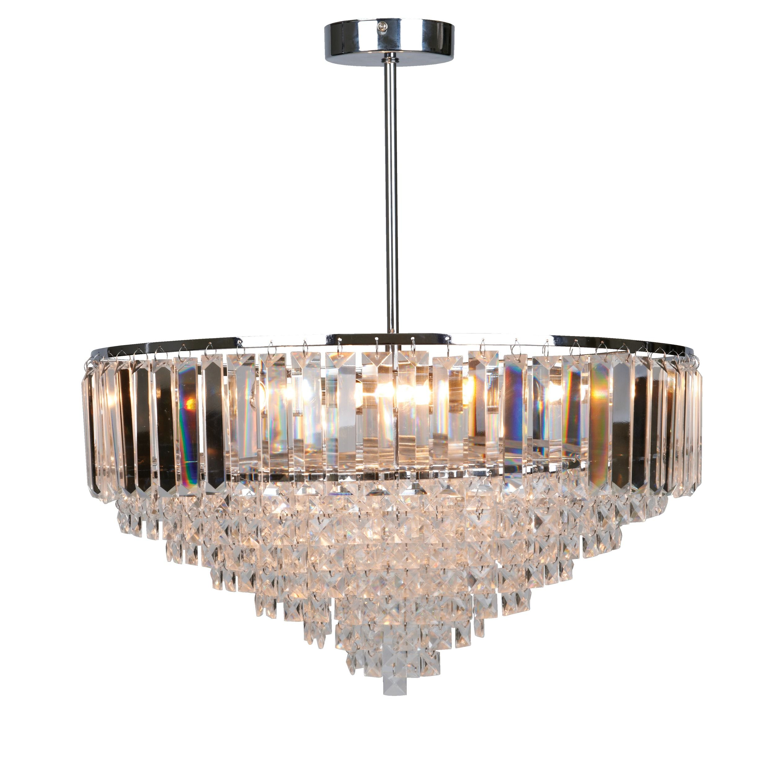Vienna Glass Pendant Light chandelier foyer Laura Ashley