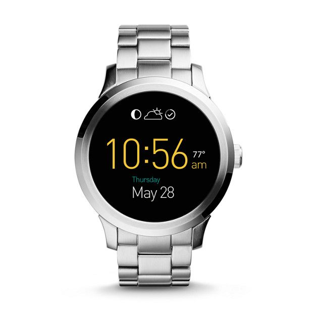 Touchscreen Functionality Meets Classic Good Looks Click Through To Shop The Fossil Q Founder Touchscreen Sma Fossil Smart Watch Tech Watches Stylish Watches
