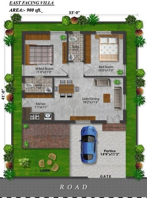 150 Sq Yds Villas For Sale In Shamshabad Hyderabad Hmda Approved Layout In Kothur Town Shamshabad 10 Acr 2bhk House Plan 30x40 House Plans Indian House Plans