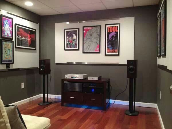 Small Room Stereophile Audio Room Sound Room Audio
