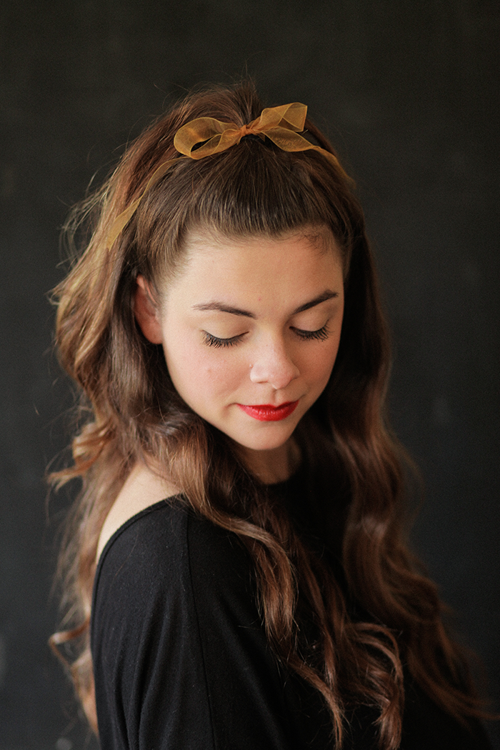 Simple, Healthy Holiday Hair - Say Yes #holidayhair
