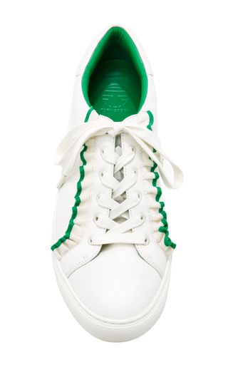ruffle sneakers - White Tory Burch