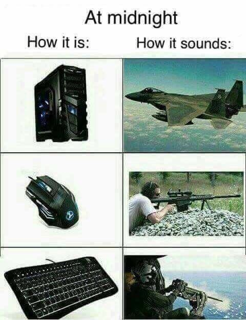 Never Releases How Loud A Keyboard Could Be Video Game Meme