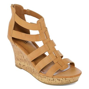 d4129028987b Buy a.n.a Massey Womens Wedge Sandals at JCPenney.com today and enjoy great  savings.