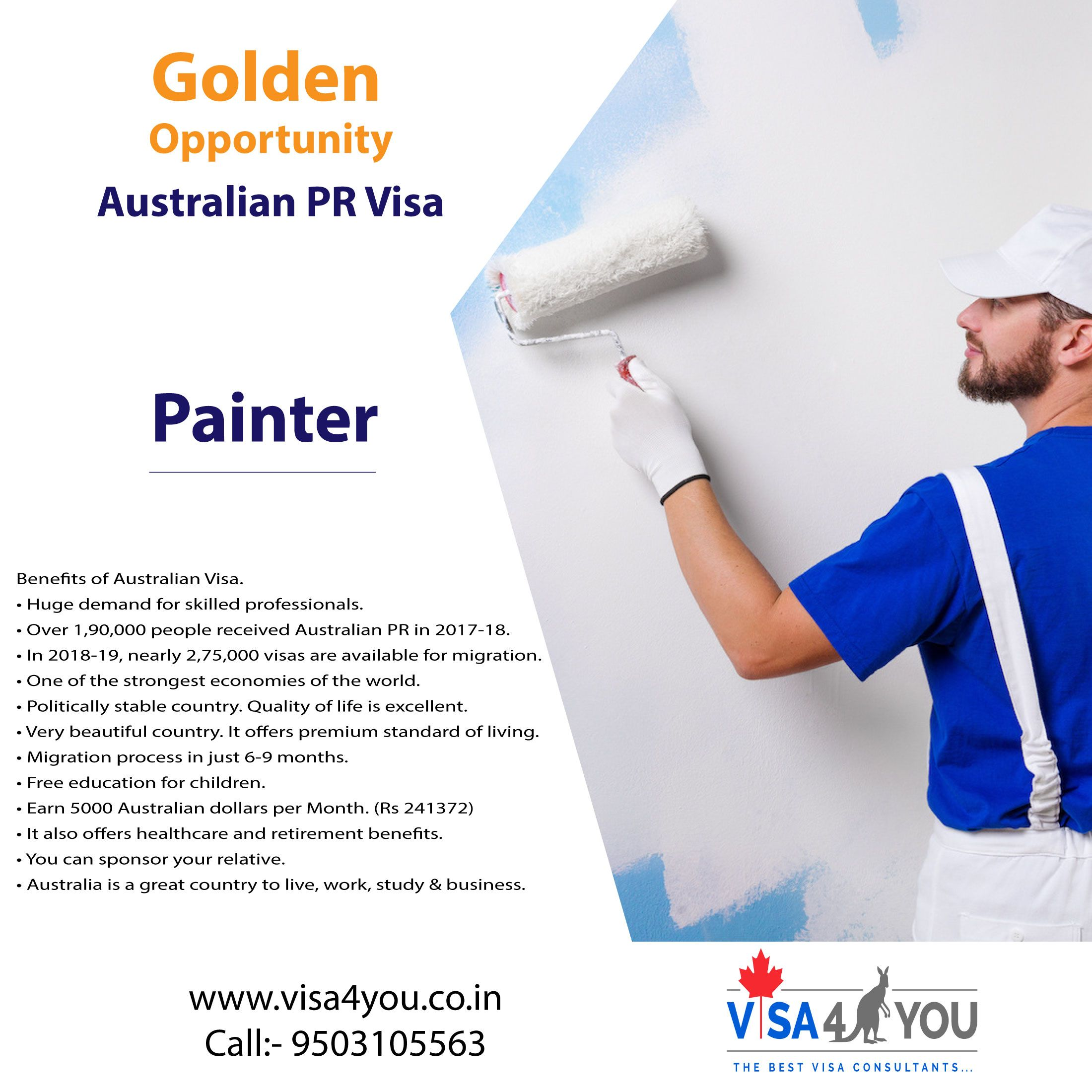 Immigration Visa Consultants For Australia And Canada In