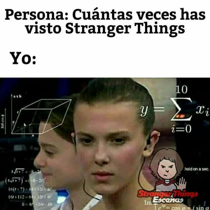 Memes de Stranger Things – ✨41✨