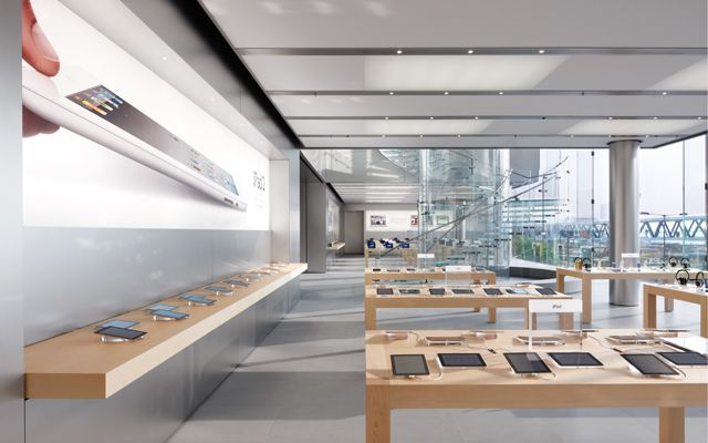 Apple Retail Store Ifc Mall With Images Apple Store Design